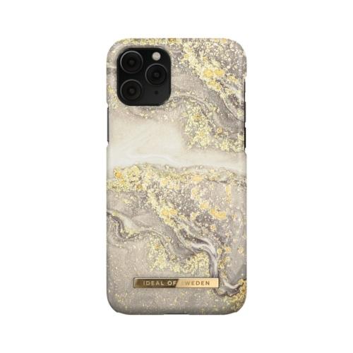 iDeal of Sweden Fashion telefontok iPhone 11 PRO / XS / X Sparkle Greige Marble