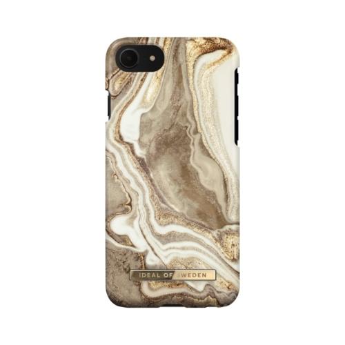 iDeal of Sweden Fashion telefontok iPhone 8 / 7 / 6 / SE Golden Sand Marble