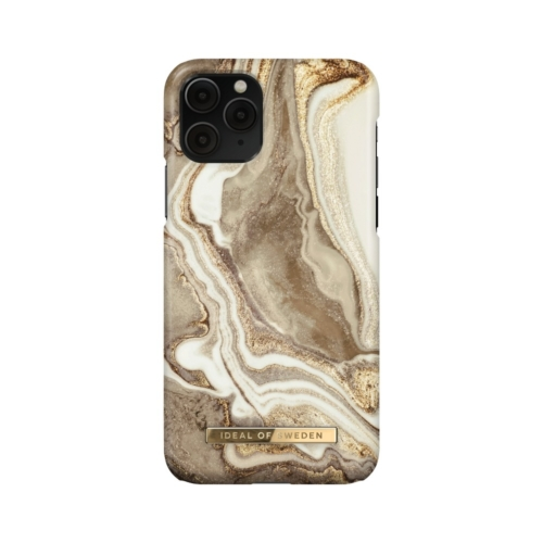 iDeal of Sweden Fashion telefontok iPhone 11 PRO Golden Sand Marble