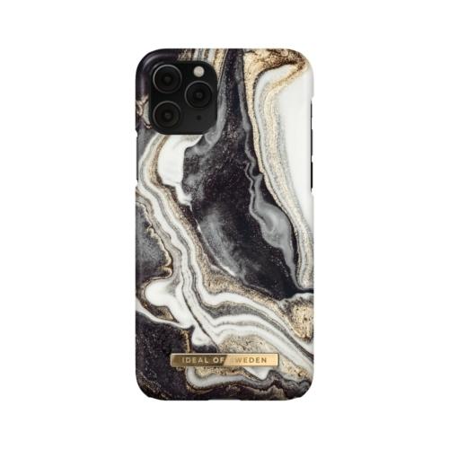 iDeal of Sweden Fashion telefontok iPhone 11 PRO / XS / X Golden Ash Marble
