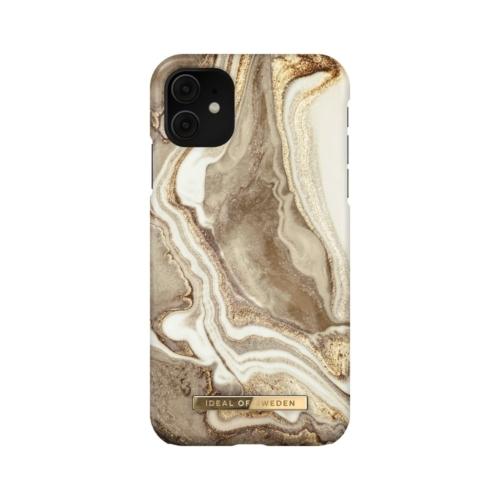 iDeal of Sweden Fashion telefontok iPhone 11 / XR Golden Sand Marble