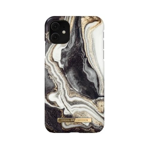 iDeal of Sweden Fashion telefontok iPhone 11 / XR Golden Ash Marble