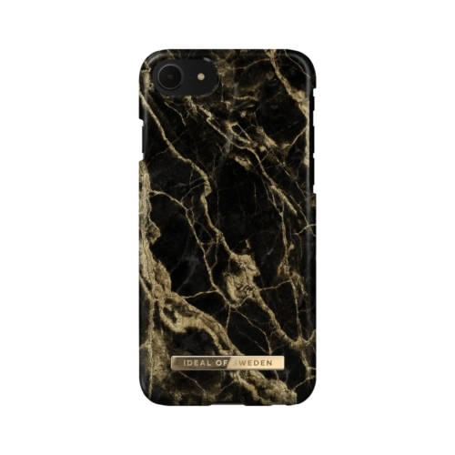 iDeal of Sweden Fashion telefontok iPhone 8 / 7 / 6 / SE Golden Smoke Marble