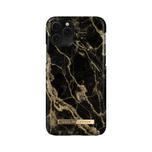 iDeal of Sweden Fashion telefontok iPhone 11 PRO / XS / X Golden Smoke Marble