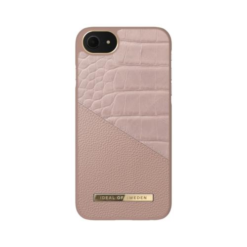 iDeal of Sweden Atelier telefontok iPhone 8 / 7 / 6 / SE Rose Smoke Croco