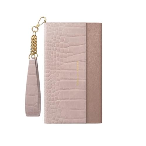 iDeal of Sweden Clutch telefontok iPhone 11 PRO / XS / X Misty Rose Croco
