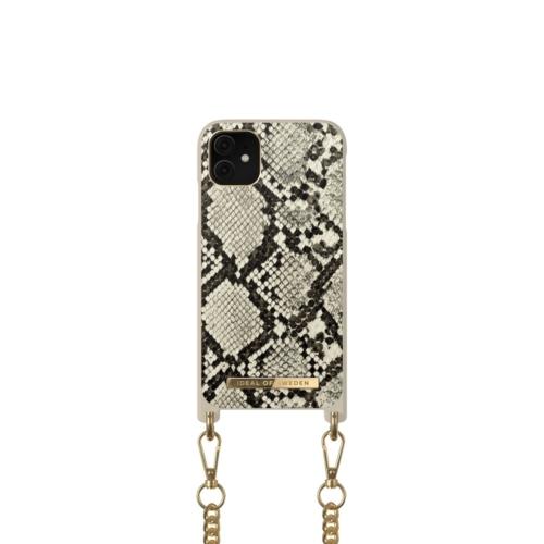 iDeal of Sweden Necklace telefontok iPhone 11 / XR Desert Python