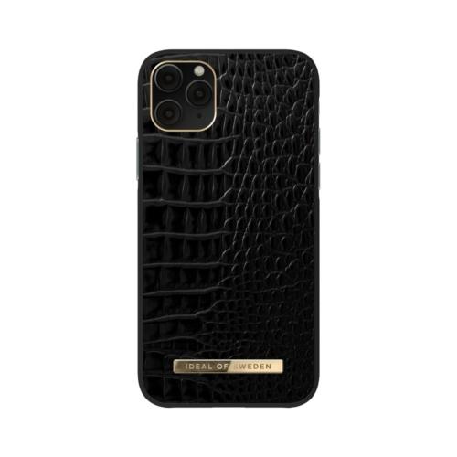 iDeal of Sweden Atelier telefontok iPhone 11 PRO / XS / X Neo Noir Croco