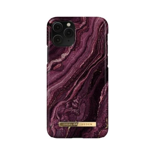 iDeal of Sweden Fashion telefontok iPhone 11 PRO / XS / X Golden Plum