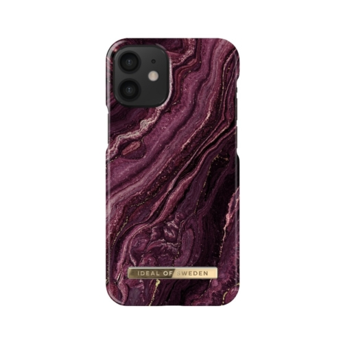 iDeal of Sweden Fashion telefontok iPhone 12 MINI Golden Plum