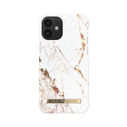 iDeal of Sweden telefontok iPhone 12 MINI Carrara Gold