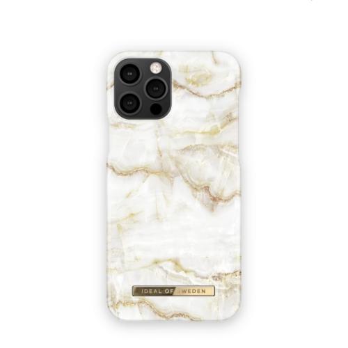 iDeal of Sweden telefontok iPhone 12 / 12 PRO Golden Pearl Marble