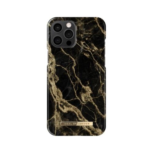 iDeal of Sweden telefontok iPhone 12 PRO MAX Golden Smoke Marble