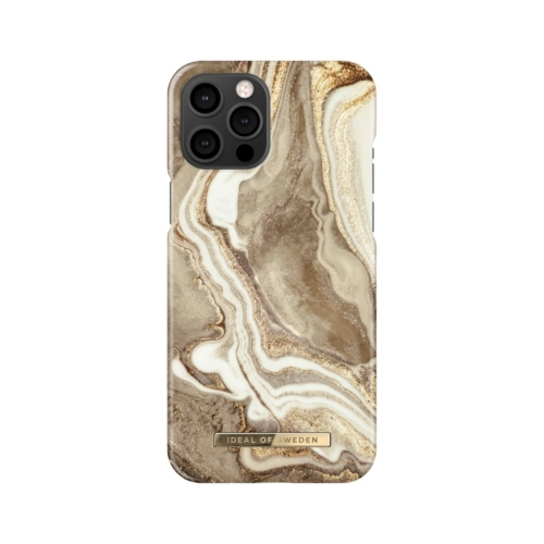 iDeal of Sweden Fashion telefontok iPhone 12 PRO MAX Golden Sand Marble
