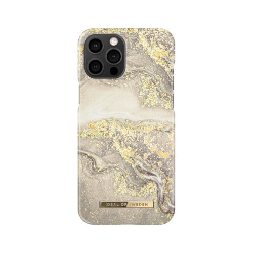 iDeal of Sweden Fashion telefontok iPhone 12 PRO MAX Sparkle Greige Marble