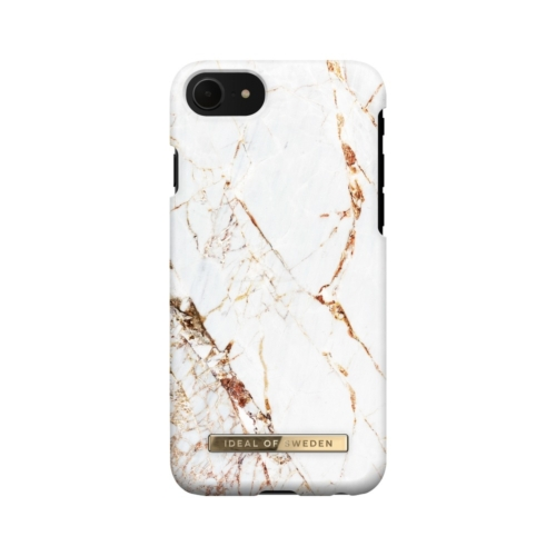 Ideal of Sweden Fashion telefontok iPhone 7 / 8 / 6 / SE Carrara gold