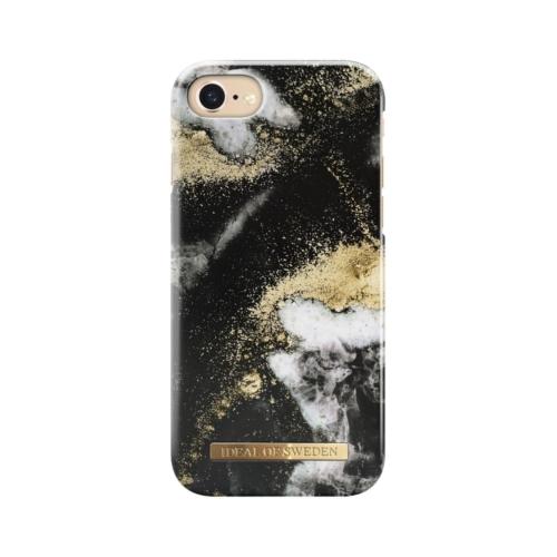 iDeal of Sweden telefontok iPhone 6 / 7 / 8 / SE Black Galaxy Marble