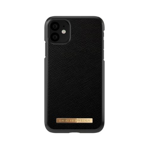 iDeal of Sweden telefontok iPhone 11 Saffiano Black