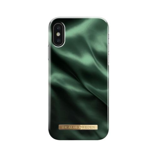 iDeal of Sweden telefontok iPhone X / XS Emerald Satin
