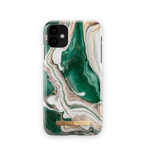 iDeal Of Sweden telefontok iPhone 11 Golden Jade Marble