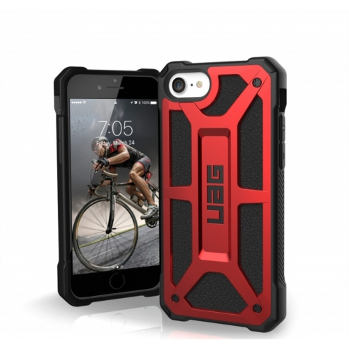 Urban Armor Gear UAG Monarch telefontok IPHONE 7 / 8 / SE 2020 red