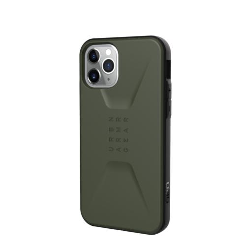 Urban Armor Gear UAG Civilian telefontok Apple IPHONE 11 PRO Max olive drab