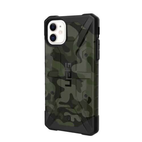 Urban Armor Gear UAG Pathfinder telefontok iPhone 11 forest camo